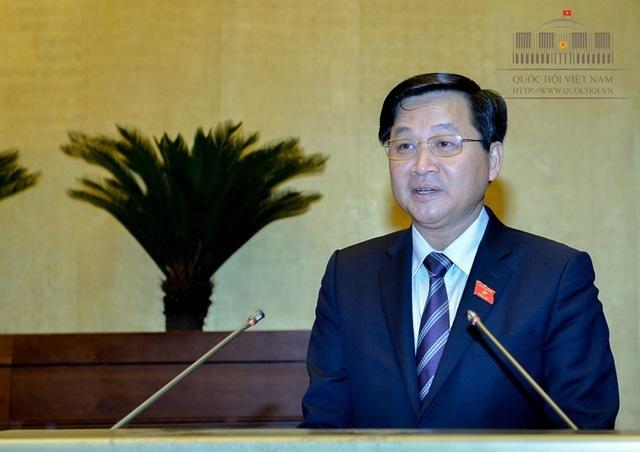 Tổng Thanh tra Chính phủ Lê Minh Khái báo cáo giải trình về dự thảo luật Phòng chống tham nhũng (sửa đổi)