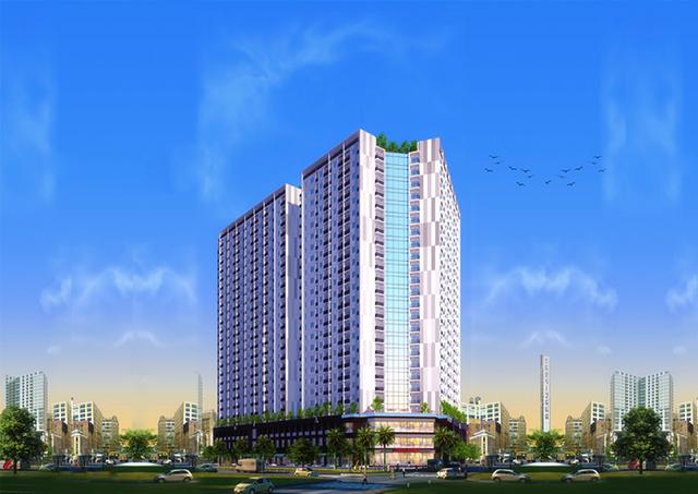 Cất nóc dự án P.H Complex Nha Trang - 3