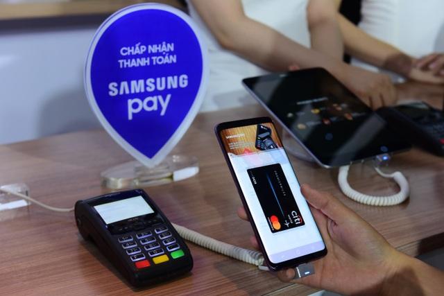 Phương thức thanh toán thông qua ứng dụng Samsung Pay đang là lựa chọn tối ưu bởi tính an toàn, tiện lợi và nhanh chóng