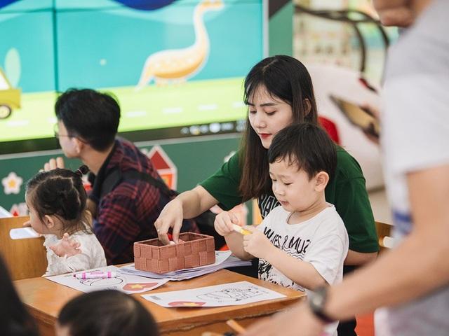 Lễ hội vui chơi bổ ích và sáng tạo nhân ngày 01.06 tại Vincom mở cửa miễn phí cho tất các em nhỏ