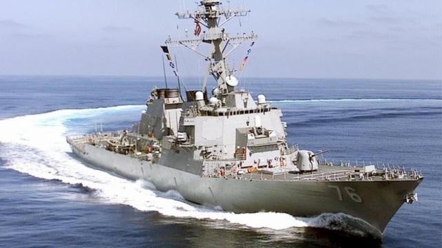tàu khu trục tên lửa dẫn đường USS Higgins của Hải quân Mỹ (Ảnh: US Navy)