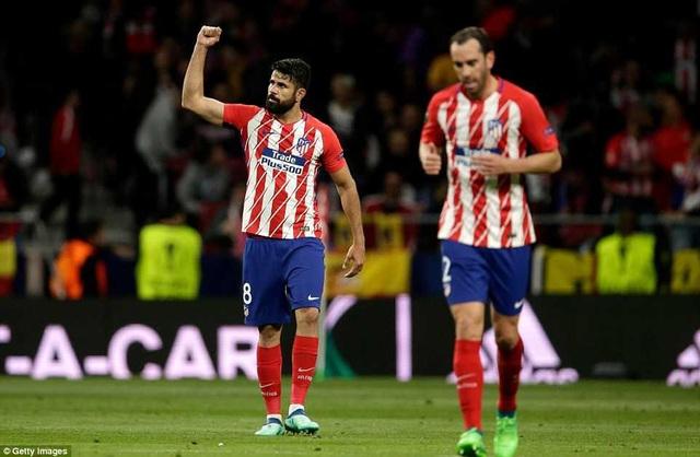 Atletico Madrid lọt vào chung kết nhờ bàn thắng duy nhất của Diego Costa