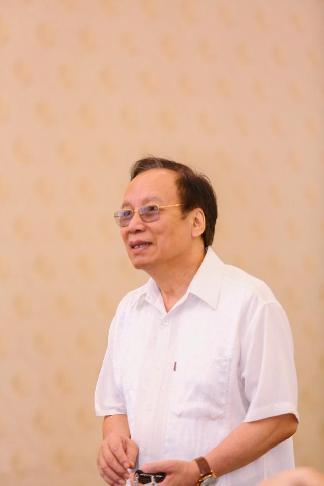 NSND Lê Tiến Thọ - Chủ tịch Hội Nghệ sĩ Sân khấu Việt Nam.