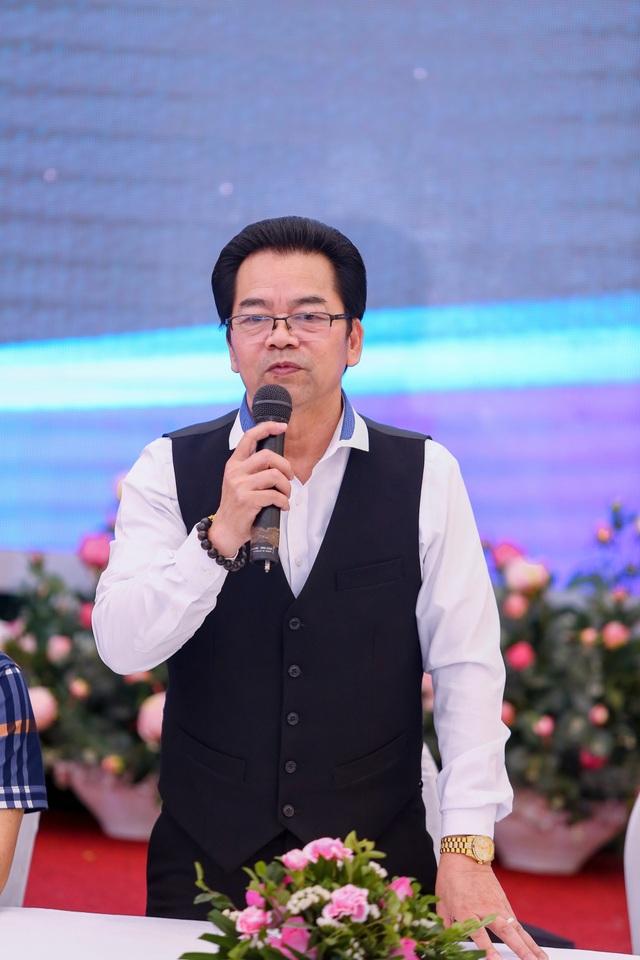 NSND Trần Nhượng chia sẻ tại buổi gặp gỡ báo chí.