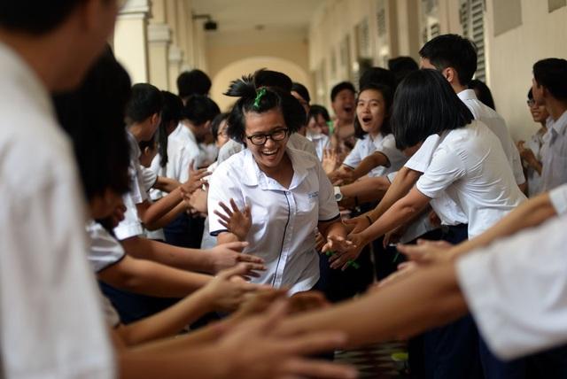 Học sinh Trường THPT chuyên Lê Hồng Phong, TPHCM