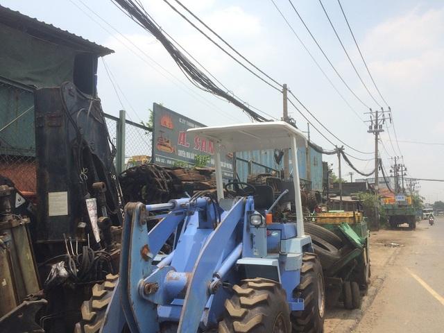 Một khu đất thuộc Tổng công ty du lịch Sài Gòn mặt tiền quốc lộ 1A sử dụng không đúng mục đích, sai quy định