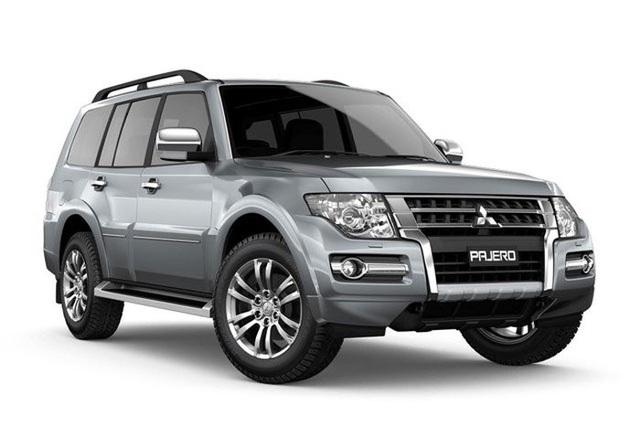Mẫu Mitsubishi Pajero tiếp tục được giảm giá 164 triệu đồng.