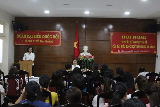 Giám đốc Sở Y tế TP Đà Nẵng cho biết đã tiếp thu các ý kiến của cử tri và sẽ có ý kiến với Quốc hội để có giải pháp đồng bộ nhằm ngăn chặn tình trạng bạo lực đối với ngành y tế.