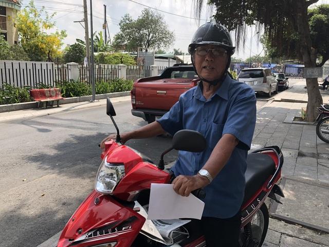 Ông Nguyễn Văn Thanh quá ngán ngẩm với cảnh thuê trọ và mong muốn sớm được trở về nhà