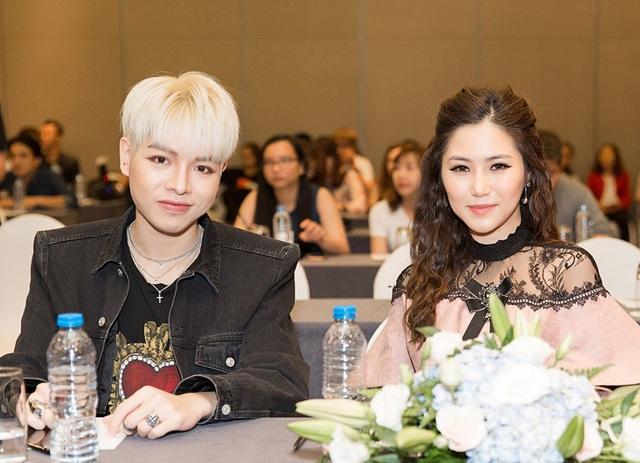 Cả hai sẽ cùng đồng hành với các thí sinh xuyên suốt 9 vòng thi tương ứng với 14 tập phát sóng.