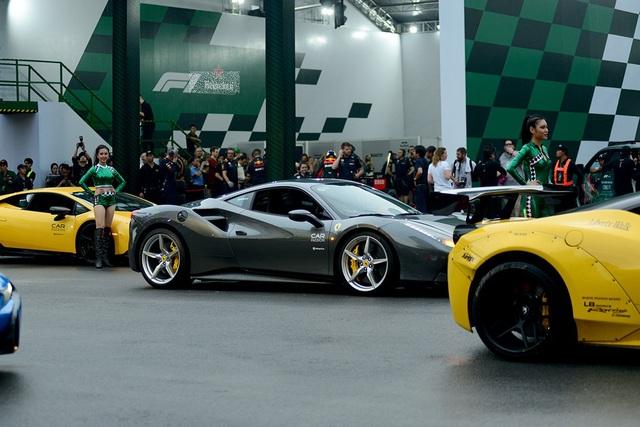 Những chiếc siêu xe cùng xuất hiện tại một sự kiện ở TPHCM.
