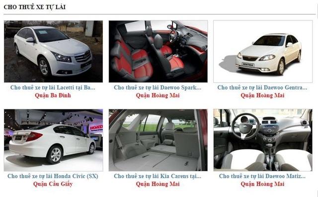Bên cho thuê xe thường đưa ra những quy định chặt chẽ mà phần thiệt luôn thuộc về người đi thuê (ảnh minh họa)