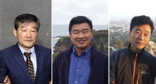 3 công dân Mỹ bị Triều Tiên bắt giữ có thể sắp được trả tự do (Ảnh: KCNA)