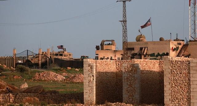 Một căn cứ quân sự của Mỹ tại Syria (Ảnh: Sputnik)