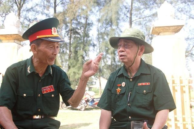 Những đồng đội cũ gặp nhau, cùng ôn lại trận đánh khốc liệt cách đây 50 năm