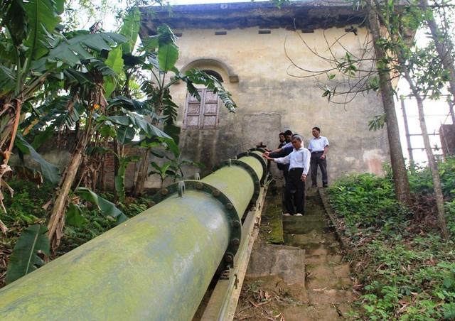 Công trình trạm bơm Cẩm Vân 1, xã Cẩm Vân, huyện Cẩm Thủy