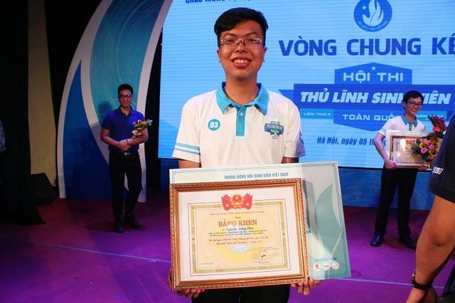 Tân Thủ lĩnh sinh viên toàn quốc lần thứ II Nguyễn Hoàng Phúc