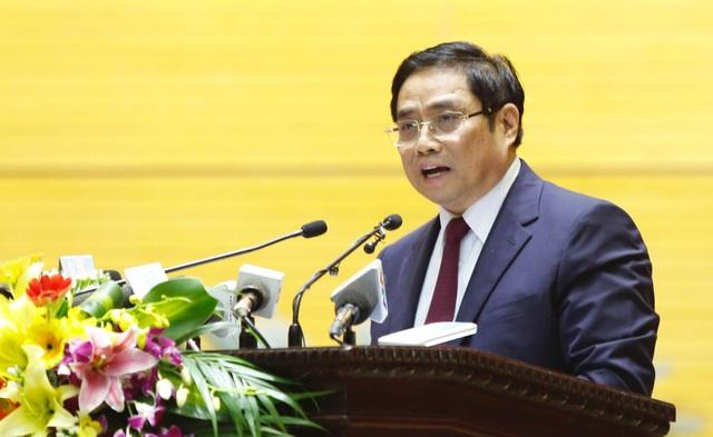 Trưởng Ban Tổ chức Trung ương Phạm Minh Chính
