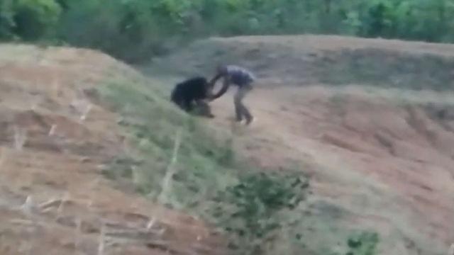 Cố chụp ảnh với gấu, người đàn ông tự chuốc lấy một kết cục đau đớn - 1