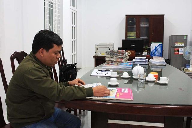 Anh Nguyễn Bá Chiến khẳng định không bị PCT UBND huyện Lê Thanh Tân đánh như kết luận của Huyện ủy Đức Phổ