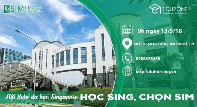 """Ngày hội du học Singapore """"Học Sing chọn SIM"""" - 1"""