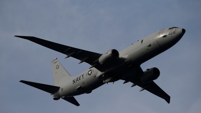 Máy bay Boeing P-8A Poseidon của Mỹ (Ảnh: Reuters)