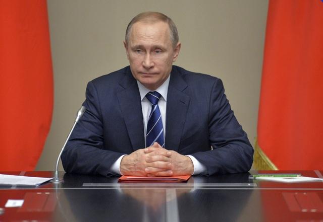 Tổng thống Vladimir Putin (Ảnh: Getty)