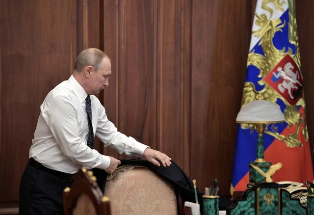 Ước tính có khoảng 5.000 người đã tới dự lễ nhậm chức tổng thống lần thứ 7 trong lịch sử hiện đại của Nga.
