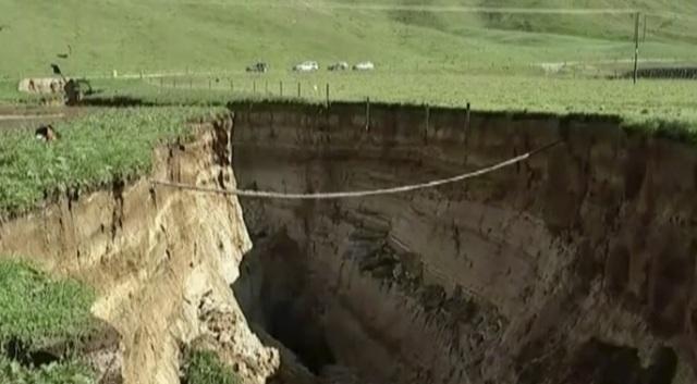 Hình thành dải rạn nứt khổng lồ ở New Zealand - 1