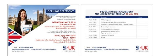Tổ chức du học Anh SI-UK khai trương văn phòng mới tại Việt Nam - 4