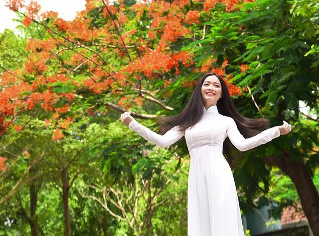 Bộ ảnh của Quỳnh Trâm gợi nhắc về những kỷ niệm đẹp tuyệt của những năm tháng hồn nhiên tuổi học trò