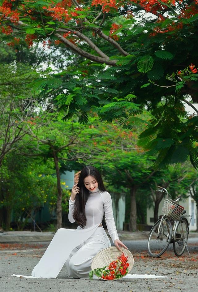 Xao xuyến tà áo trắng nữ sinh khi mùa phượng vĩ về - 10