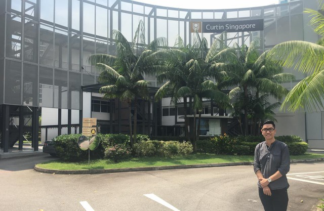 Đại diện EduViet tại Curtin Singapore