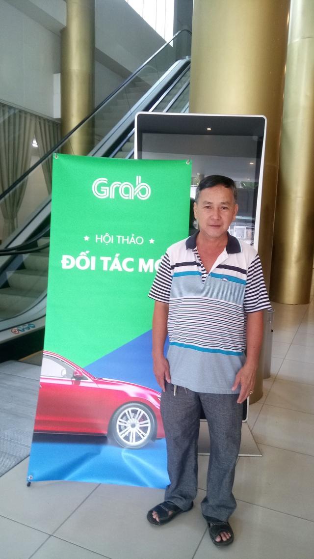 Anh Hồ Văn Đặng, đối tác Uber đăng ký Grab thành công