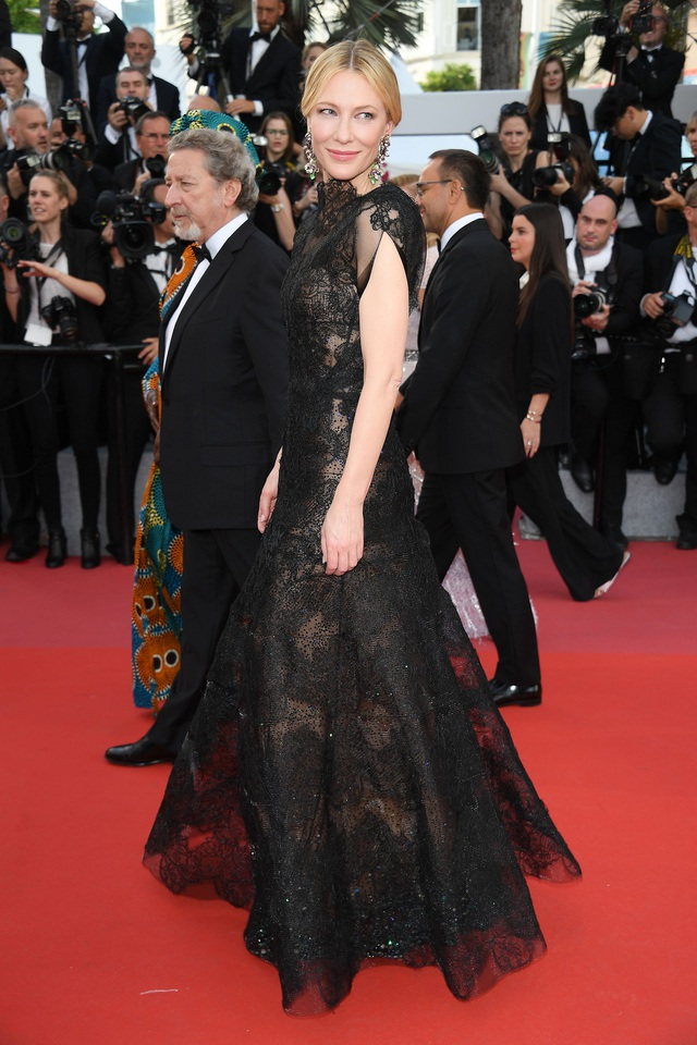Nữ diễn viên Cate Blanchett - trưởng ban giám khảo.