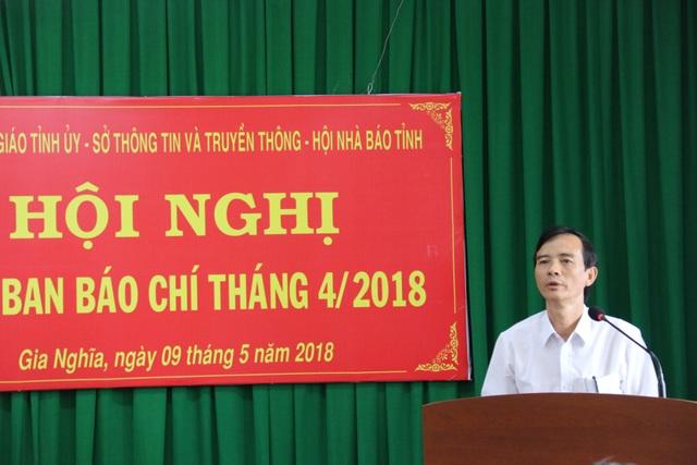 Lãnh đạo UBND huyện Đắk Mil thông tin sự việc