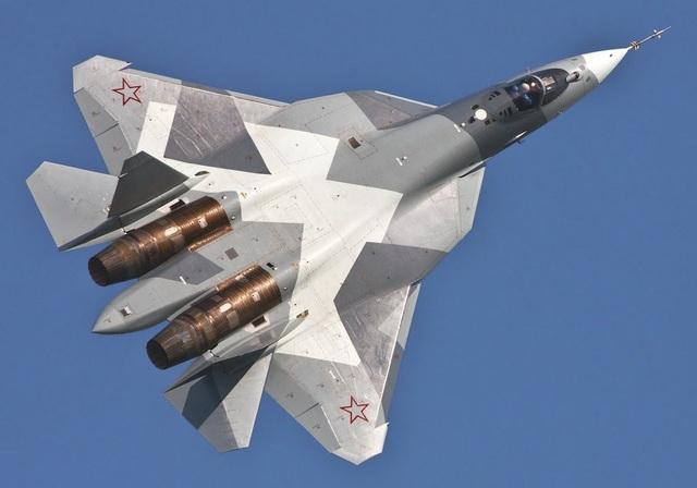 Máy bay chiến đấu Su-57 (Ảnh: United Aircraft Corporation)