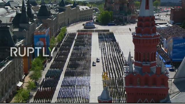 Nga trình diễn hàng trăm khí tài trong lễ duyệt binh mừng ngày Chiến thắng - 54