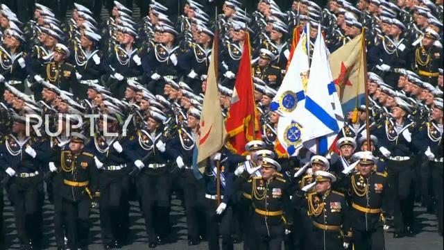 Nga trình diễn hàng trăm khí tài trong lễ duyệt binh mừng ngày Chiến thắng - 32