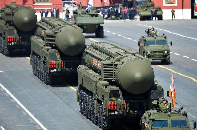Tên lửa RS-24 Yars (Ảnh: Reuters)