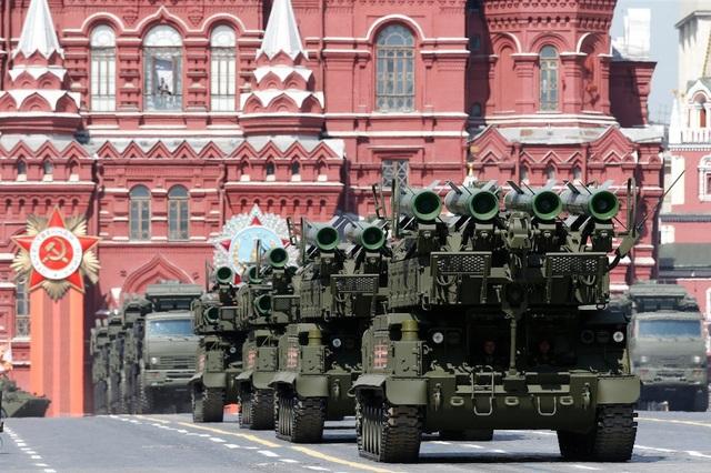 Hệ thống phòng không Buk-M2 (Ảnh: Reuters)