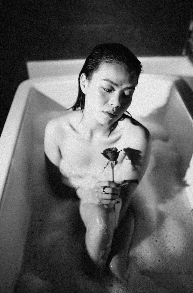 Nguyễn Hải Yến nóng bỏng với ảnh nude trong bồn tắm, tâm sự đàn bà tuổi 30 - 2