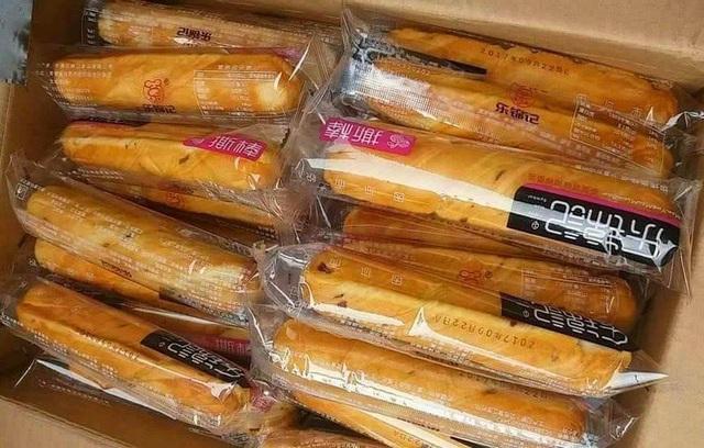 Bánh mì que ngàn lớp Trung Quốc có giá chỉ 3.000-4.000 đồng/chiếc