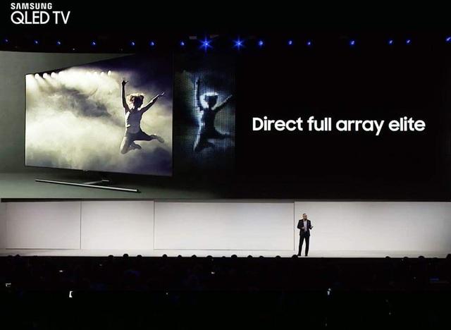 Chính công nghệ Direct Full Array đã đưa TV QLED 2018 gần hơn với đỉnh cao hình ảnh mà một chiếc TV có thể chạm tới trong các năm qua.