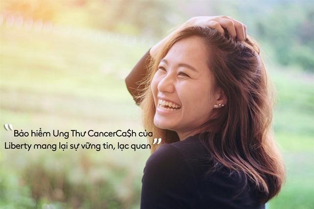 Bảo hiểm Ung Thư CancerCa$h của Liberty mang lại sự vững tin, lạc quan