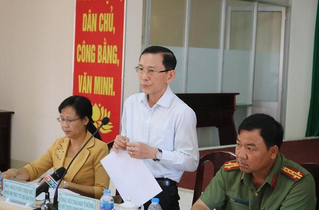 Chủ tịch UBND TP Cần Thơ Võ Thành Thống phát biểu chỉ đạo tại cuộc họp