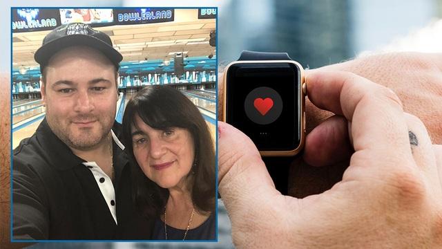 William Monzidelis được cứu mạng nhờ chiếc Apple Watch nhỏ bé.