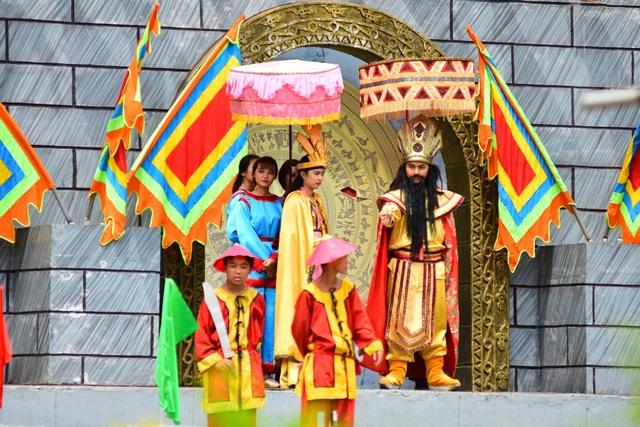 Vua Hùng Vương tuyển chồng cho công chúa Ngọc Hoa