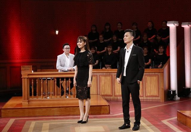 Xuất hiện tại Phiên tòa tình yêu lần này cùng chồng mới cưới Phi Hùng, Lâm Khánh Chi tuyên bố cô muốn khởi kiện ông xã vì không cho mình… ăn cơm.