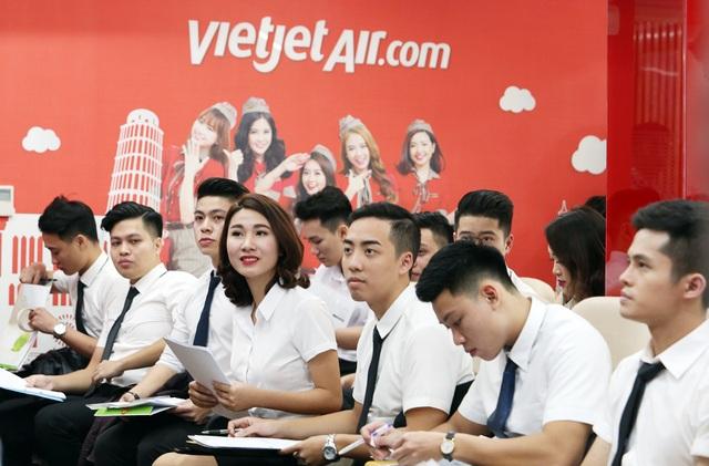 100 tiếp viên sẽ được tuyển trong tháng 6/2018 để phục vụ cho 100 đường bay của Viejet